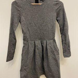 Grey Long Sleeved Aritzia Dress